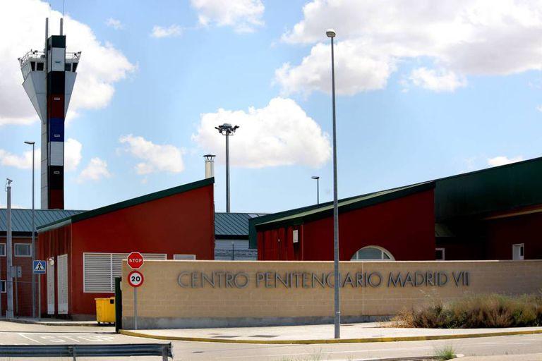 Imagen de archivo de la entrada a la cárcel de Estremera, en la provincia de Madrid.