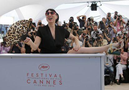 Rossy de Palma en Cannes presentando 'Julieta' (2016).