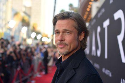 Brad Pitt en la presentación de su última película, 'Ad Astra', en Los Ángeles, California.