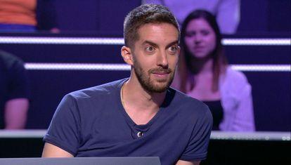 David Broncano, en el programa '¿Quién quiere ser millonario?'