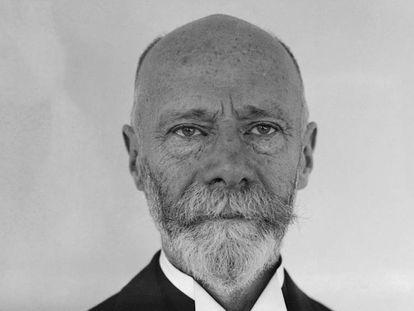 Dr. Willem Einthoven, profesor de fisiología en la Universidad de Leyden, Holanda, y Premio Nobel de Medicina y Física
