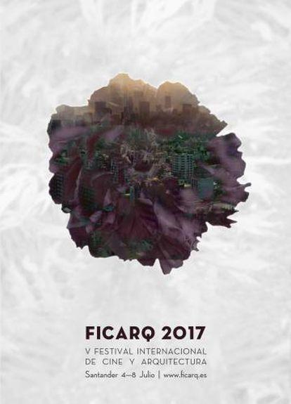 Cartel de FICARQ 2017, diseñado por Júlia de Balle.