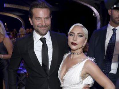 La cantante invitó al actor, que se encontraba en uno de sus espectáculos en Las Vegas, a cantar con ella  Shallow , el dueto que grabaron para  Ha nacido una estrella