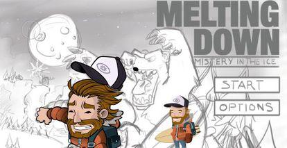 Cabecera del juego 'Melting Down'.