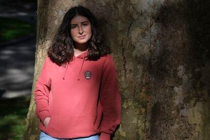 Blanca Huergo, in the center of Oviedo.