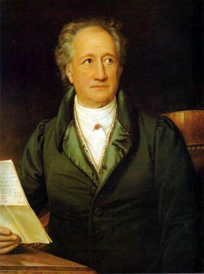 Cuadro de Goethe.