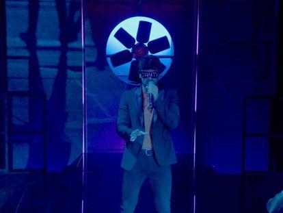 Ricky Merino, presentador de '¡A cantar!' en Netflix.