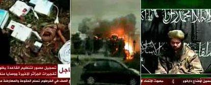 Imágenes de la preparación de los atentados de abril en Argel, de la explosión del coche bomba y de Abdelmalek Drukal, líder de los salafistas, instando a los jóvenes a apuntarse a la <i>yihad.</i>