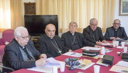 Obispos de la Conferencia Episcopal Tarraconense.