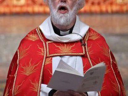 El arzobispo de Canterbury, Rowan Williams.