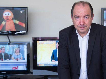 El director de TV3, Vicent Sanchis.