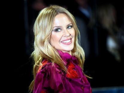 Kylie Minogue, en Londres el pasado noviembre.