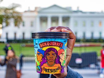 El helado anti-Trump de Ben & Jerry's que promueve la igualdad.