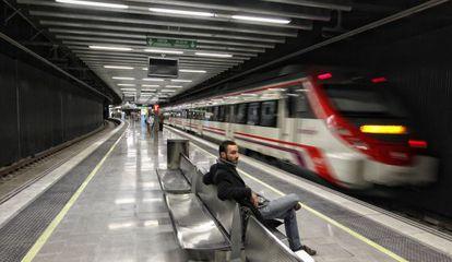 Estación de Rodalies de la Sagrera.
