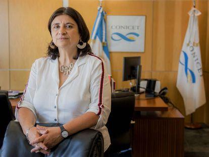 La científica argentina Ana Franchi.
