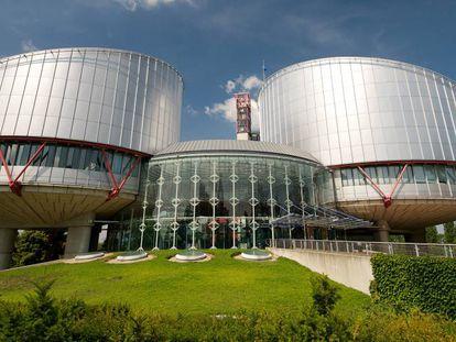 Palacio de Derechos del Hombre, sede del Tribunal Europeo de Derechos Humanos, en Estrasburgo.