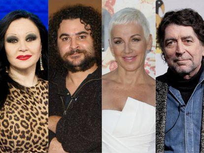 Grupos como Kaka de Luxe, Mojinos excozíos y Mecano o solistas como Joaquín Sabina son algunos de los nombres más reconocidos del pop español que han cantado sobre Madrid. A menudo, para cuestionarla a la vez que la alababan,.