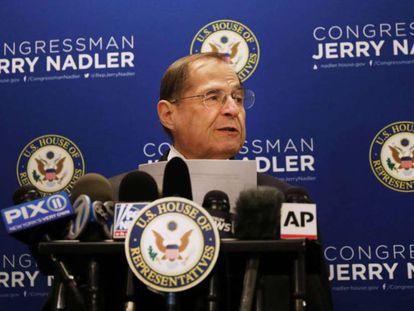 En foto, el presidente del Comité Judicial, el demócrata Jerrold Nadler. En vídeo, el fiscal general presenta las conclusiones del informe.