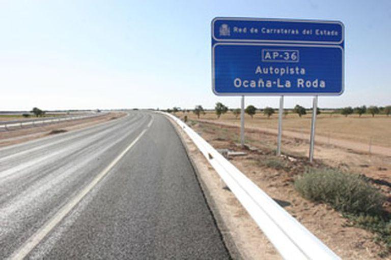 Autopista AP 36 Ocaña-La Roda.