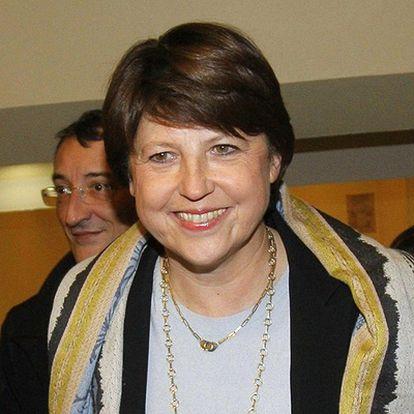 La nueva líder del Partido Socialista francés, Martine Aubry