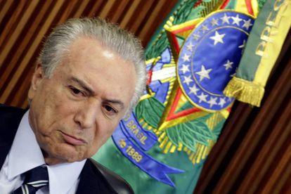 El presidente interino de Brasil, Michel Temer.