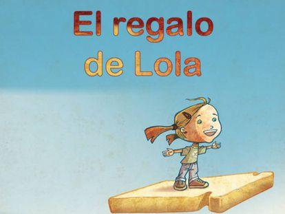 Ilustración de Manuel Romero para 'El regalo de Lola'.