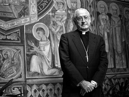 El arzobispo de Barcelona de 1990 a 2004, Ricard Maria Carles, en una imagen de 1997.