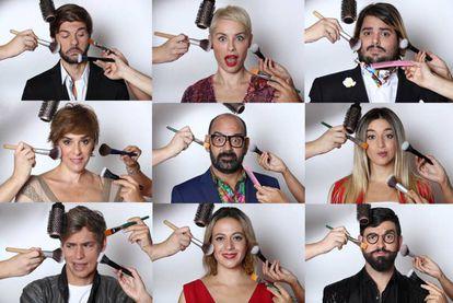 Los participantes de la séptima edición de 'Tu cara me suena'.
