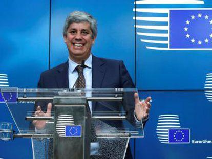 El ministro portugués sustituirá en enero al holandés Jeroen Dijsselbloem