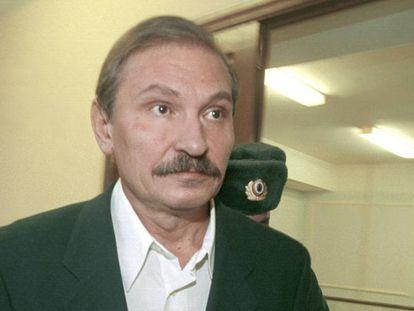 Nikolai Glushkov en una foto de archivo de 2000 en Rusia.
