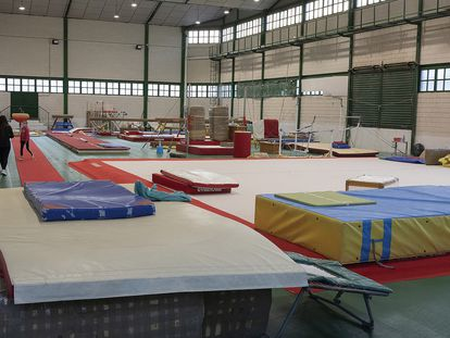 Las instalaciones del Club Gymnàstic de Betxí, donde Carlos Franch cometió los abusos por los que ha sido condenado a 15 años y medio de prisión.