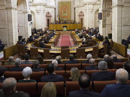 El Parlamento, el pasado 28 de febrero.