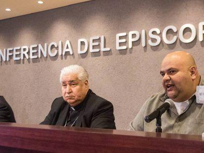 Miembros de la conferencia episcopal de México.