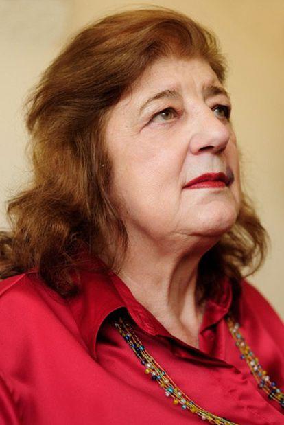La escritora Juana Bignozzi (Buenos Aires, 1937).