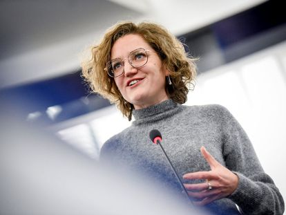 La abogada y europarlamentaria por Francia Marie Toussaint.