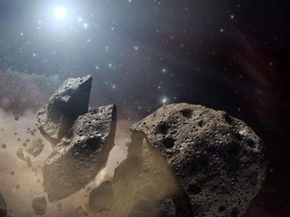 Un asteroide de 10 kilómetros de diámetro provocó una nube de ceniza global que detuvo la fotosíntesis