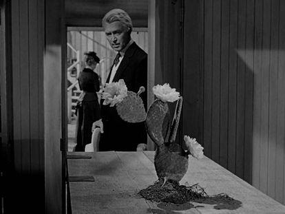 James Stewart y Vera Miles en 'El hombre que mató a Liberty Valance'