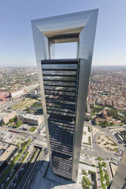 La 'Torre Foster' de Madrid