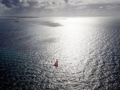 El Mapfre, durante la 7ª etapa de la Volvo Ocean Race.