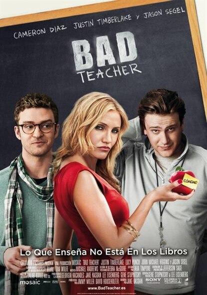 Cartel de Bad Teacher