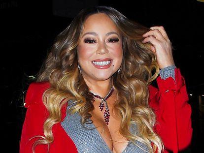 La cantante Mariah Carey en Nueva York en 2019.