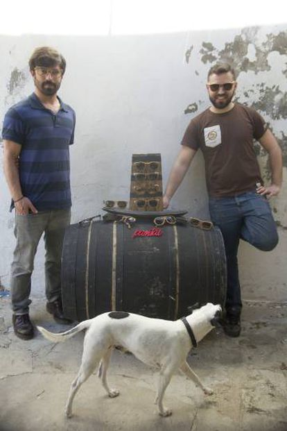 David Pérez (izquierda) y Jesús Pérez, creadores de Pantai.