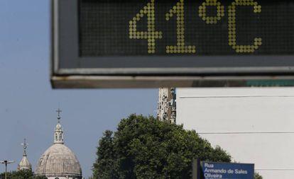 Ola de calor en Río de Janeiro en enero pasado.