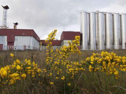 Factoría de Alimentos Lácteos, en Outeiro de Rei (Lugo)