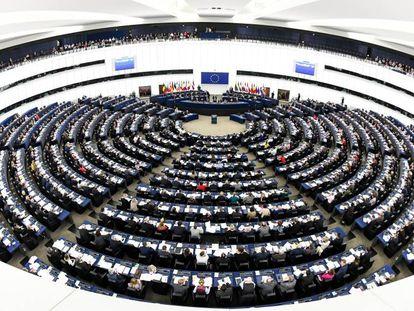 Pleno del Parlamento Europeo.