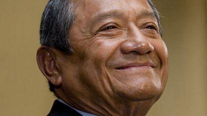 Armando Manzanero, el 26 de agosto de 2008, en Ciudad de México.
