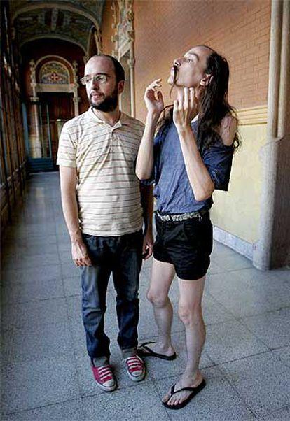 Manolo y Genís, de Astrud, en Barcelona.