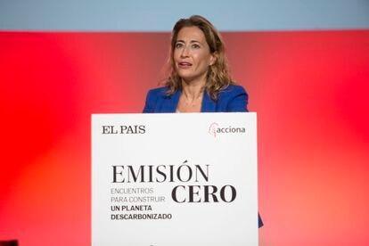 Raquel Sánchez, ministra de Transportes, Movilidad y Agenda Urbana..