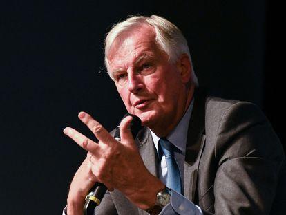 Michel Barnier, en un acto en Nimes.