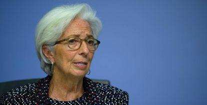The president of the ECB, Christine Lagarde.